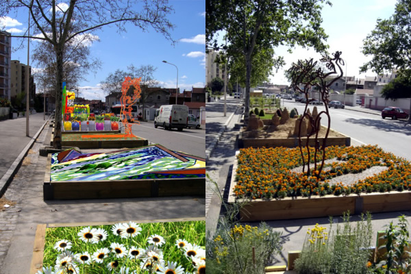 Chantal dugave festival des jardins de rue for Jardin 122 rue des poissonniers